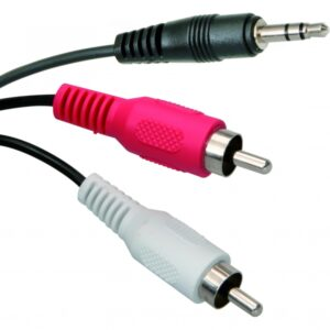 3.5mm Jack to Phono Cable