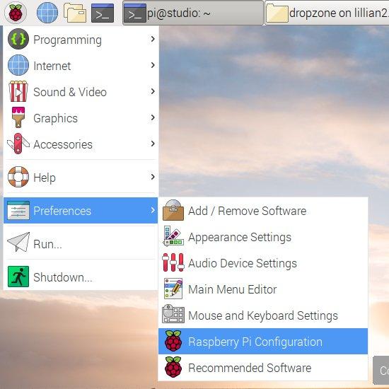 Raspberry Pi Configuration Utility