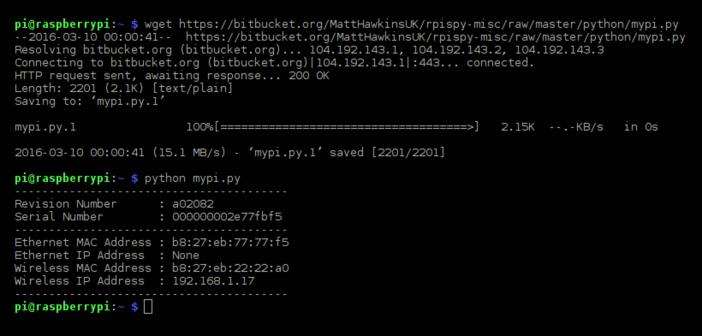 mypi Python Script