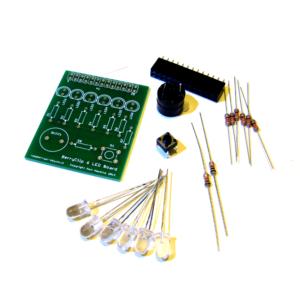 BerryClip 6 LED Board Kit