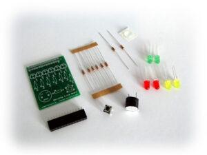 BerryClip 6 LED Buzzer Board Kit