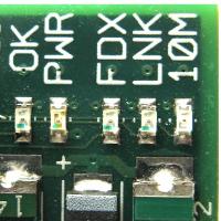 Model B Status LEDs