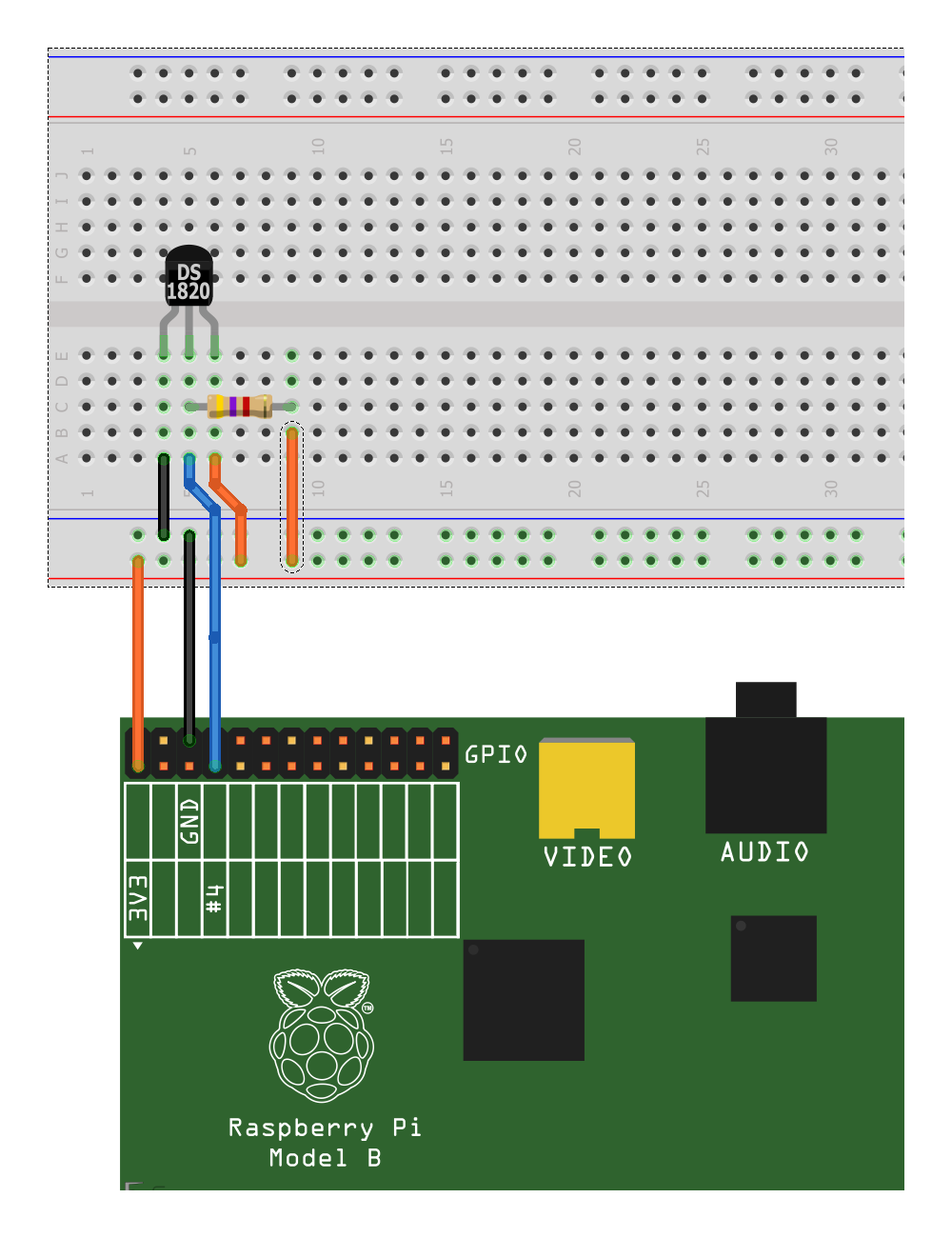 Using Ds18b20 Digital Temperature Sensors With The Raspberry Pi Wiringpi Gpio Not Working Sensor