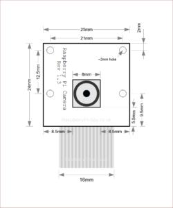 Raspberry Pi Camera Module Diagram