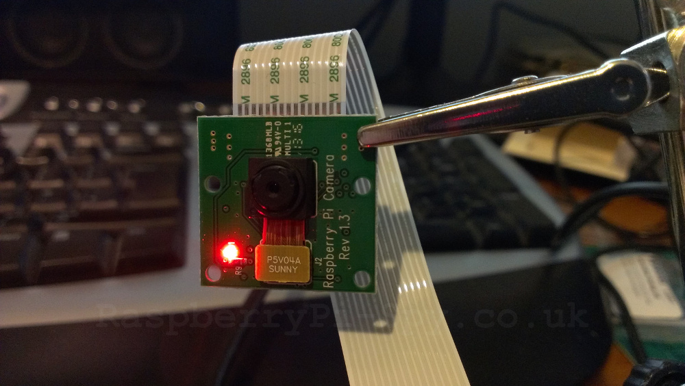 How To Disable The Red LED On The Pi Camera Module