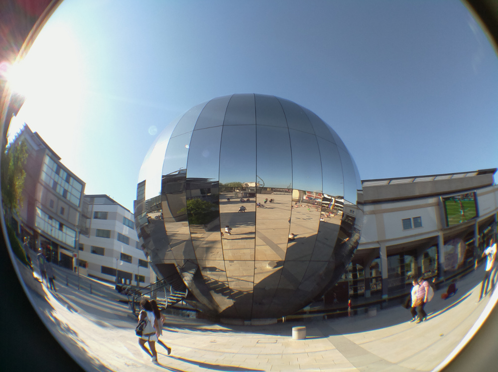 Pi Camera Fish Eye Lens Example
