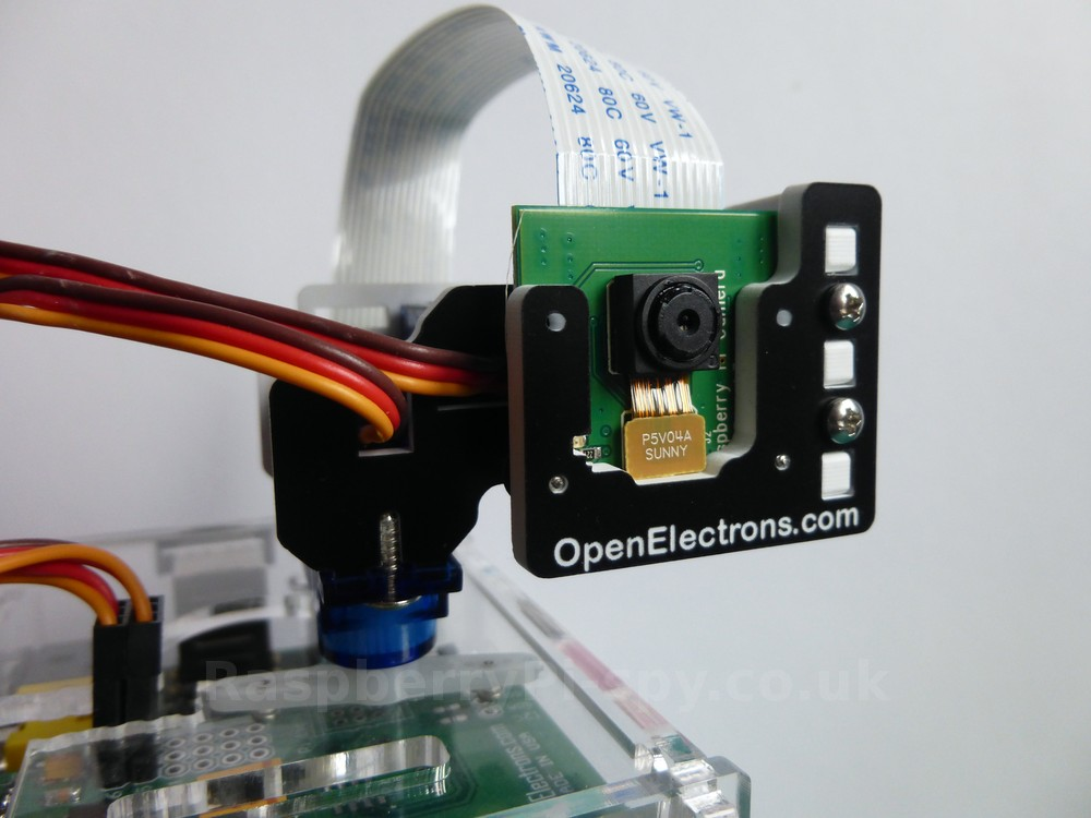 Pipan Pan And Tilt Mechanism For Raspberry Pi Camera