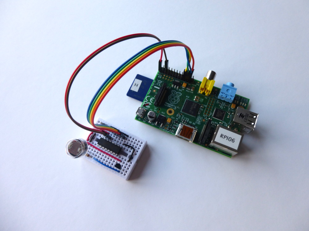 Analogue Sensors On The Raspberry Pi Using An MCP3008