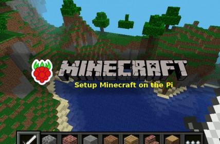 Setup Minecraft on the Raspberry Pi
