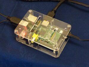 Raspberry Pi in Perspex Case
