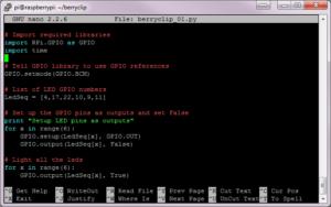 nano Text Editor Screenshot #1