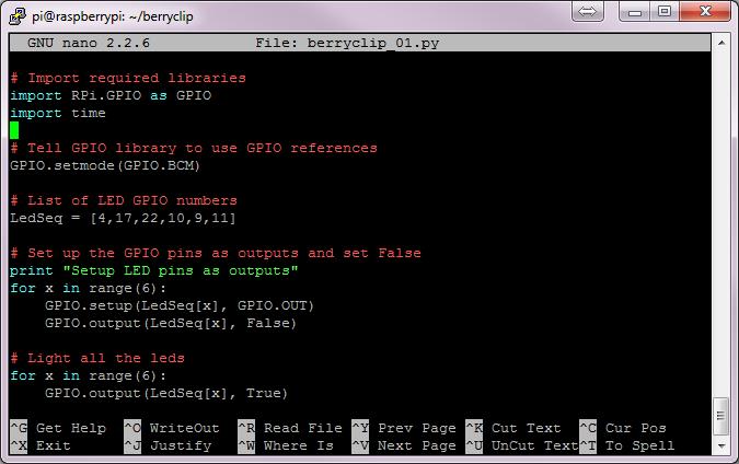 Quick Guide To nano Text Editor On The Raspberry Pi - Raspberry Pi Spy