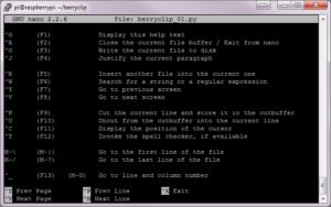 nano Text Editor Screenshot #2
