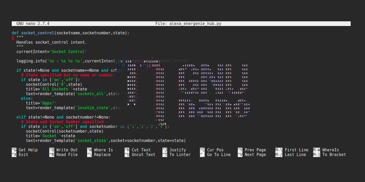 Quick Guide To nano Text Editor On The Raspberry Pi - Raspberry Pi Spy