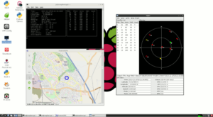 Raspberry Pi GPS Clients under LXDE
