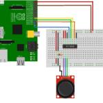 MCP3008 and Joystick Circuit