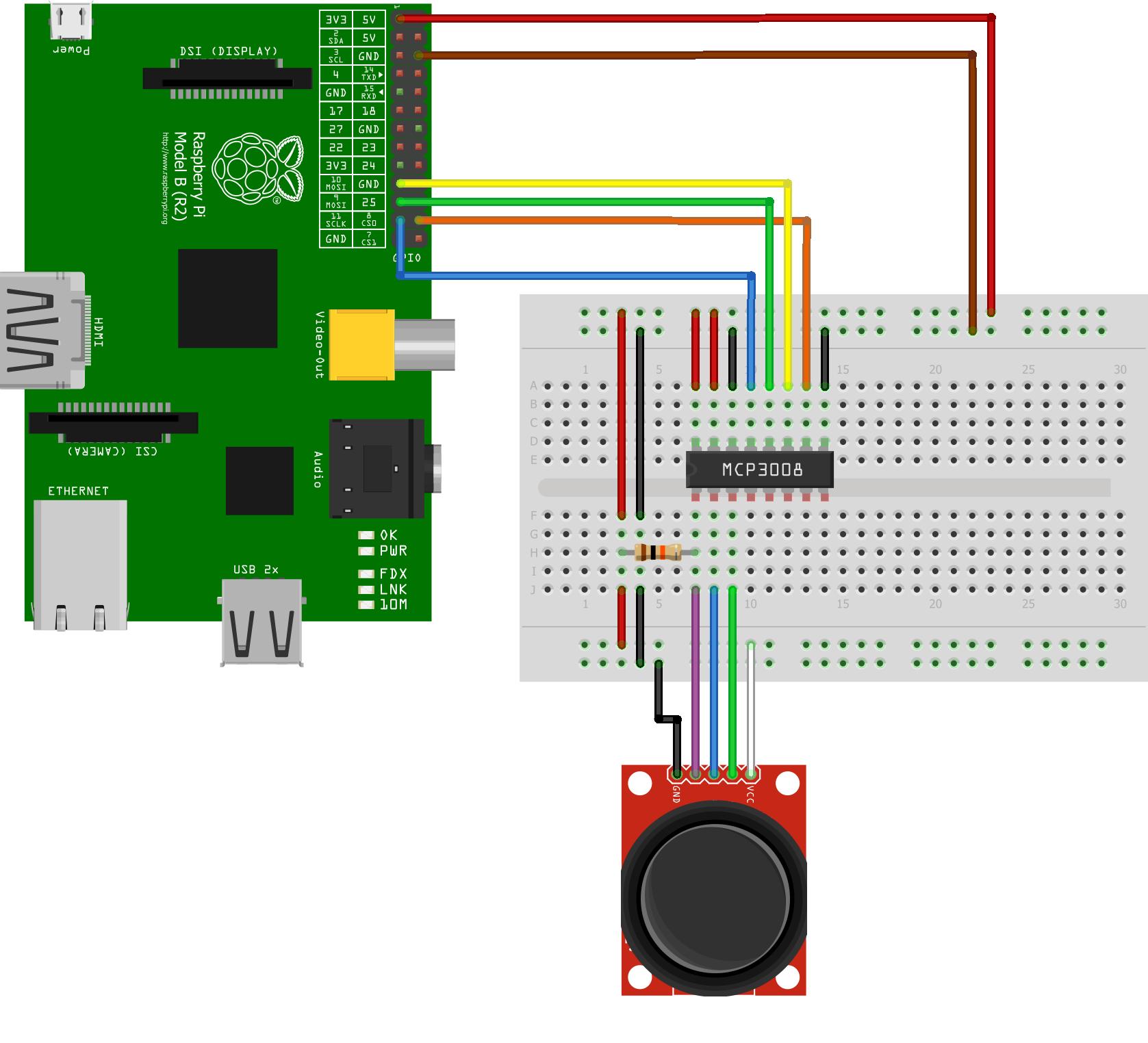 mcp3008 joystick raspberry pi spy. Black Bedroom Furniture Sets. Home Design Ideas