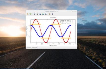 Gnuplot screenshot