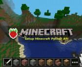 How to Setup the Minecraft Python API on a Raspberry Pi
