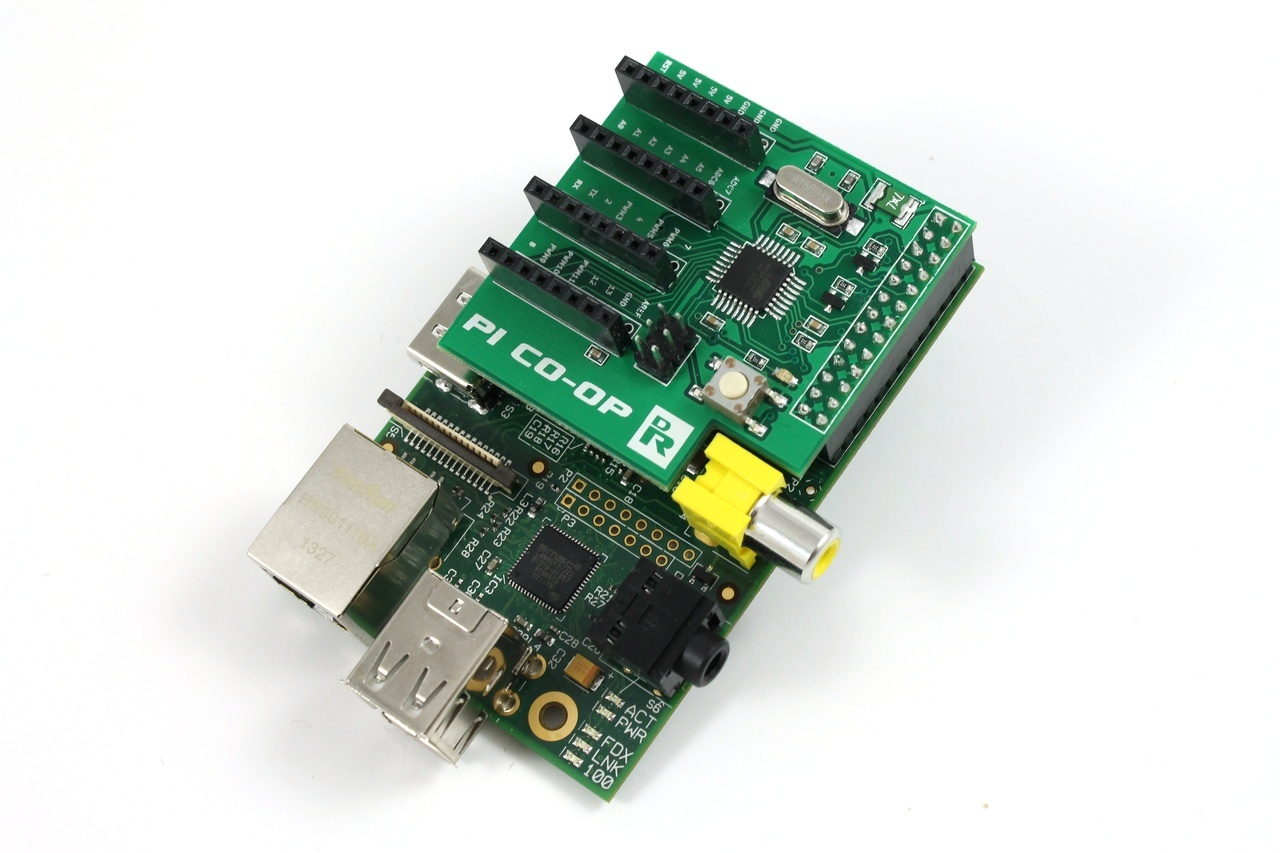 Getting started with the pi co op arduino raspberry addon