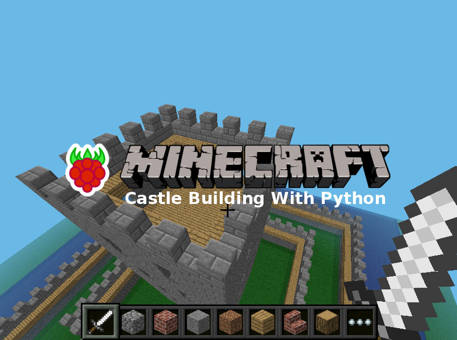 Minecraft Castle Banner Raspberry Pi Spy