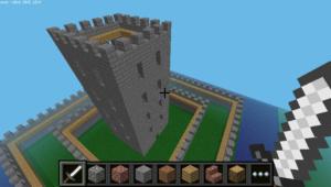 Minecraft Python Castle #1