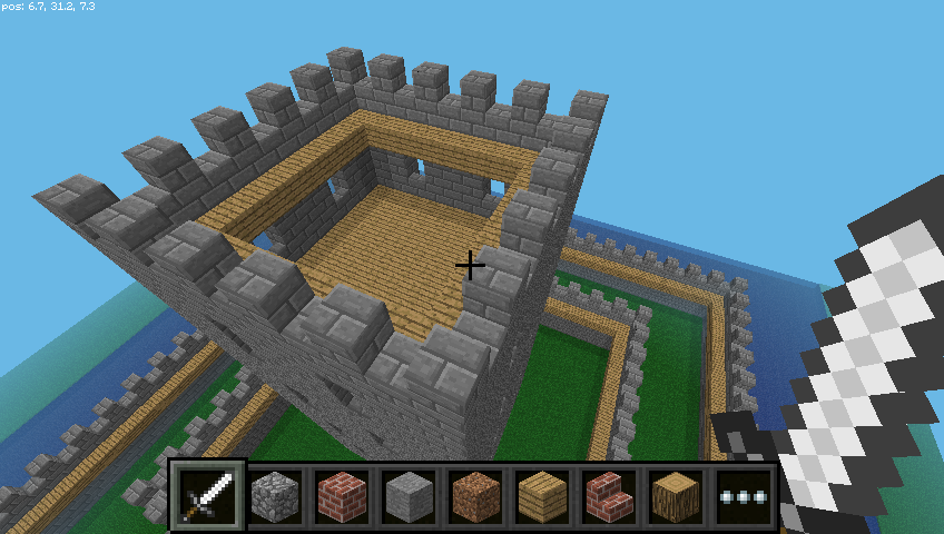 Minecraft Python Castle #3