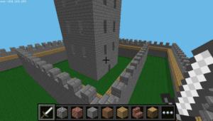 Minecraft Python Castle #4