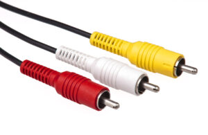 RCA Audio and Video Plugs