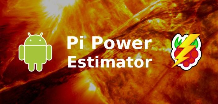 Pi Power Estimator App Banner