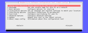Enable SPI Using Raspi-config