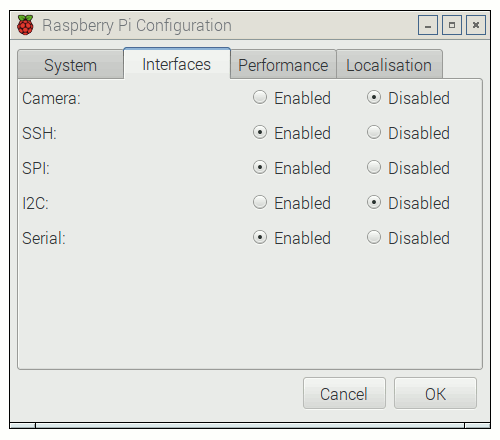 Raspberry Pi Configuration