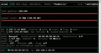 Wavemon Screenshot
