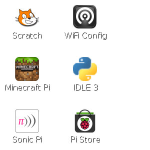 WiFi Config Icon in LXDE