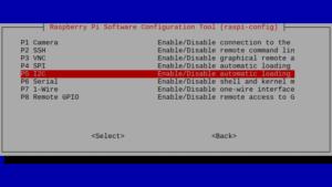 Raspi-Config - Interfacing - I2C