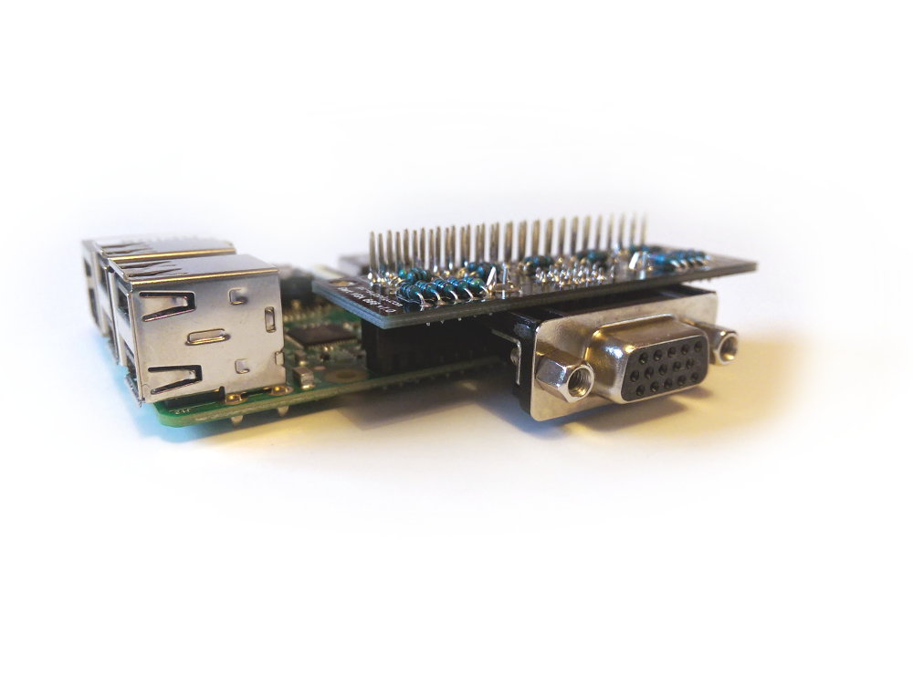 Introducing The Gert VGA 666 Adapter For Raspberry Pi - Raspberry Pi Spy