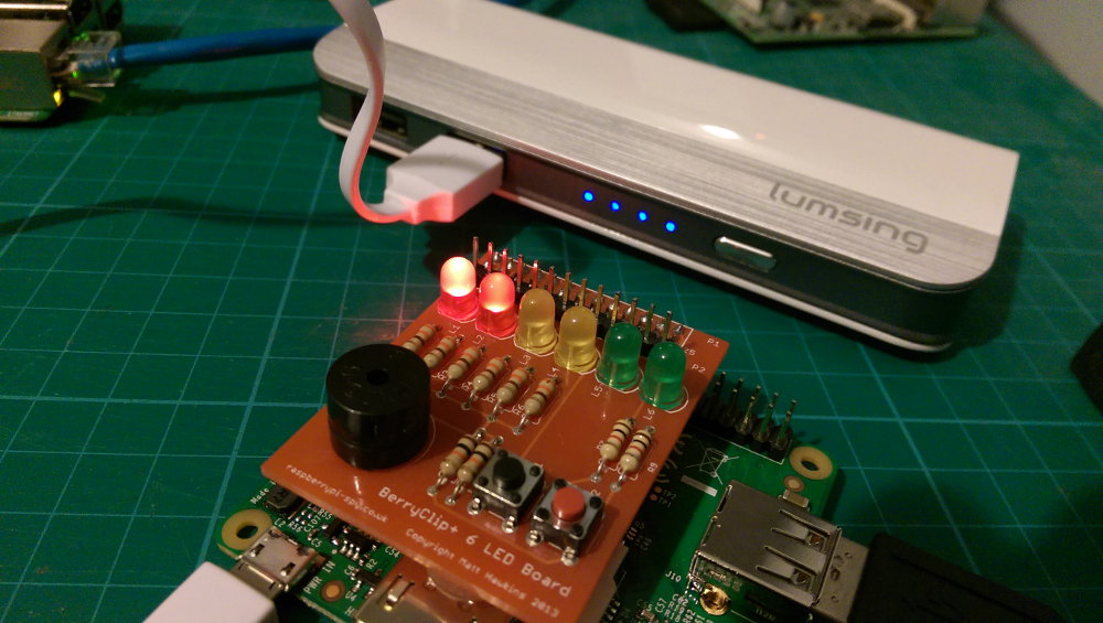 Lumsing Harmonica Battery Test