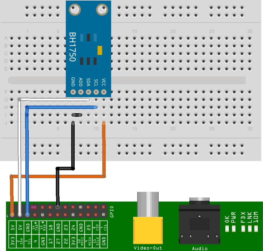 BH1750 Module Setup