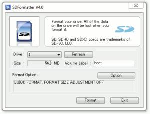 SD Formatter Guide #1