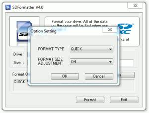 SD Formatter Guide #2