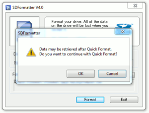 SD Formatter Guide #3