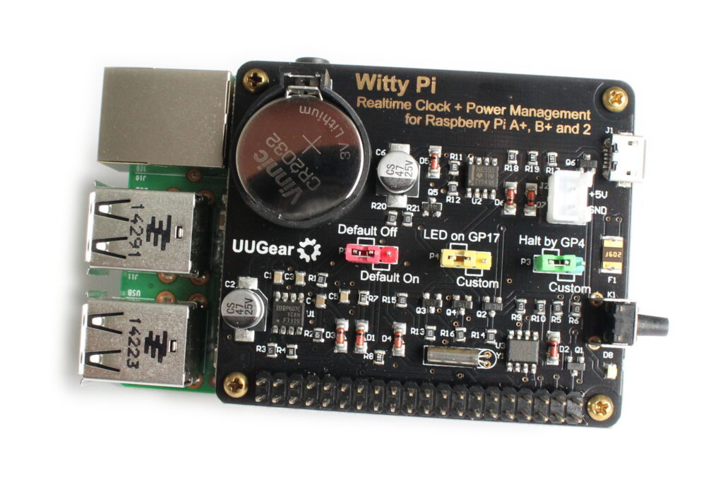 Witty Pi - A Realtime Clock and Power Management for your Raspberry Pi - Raspberry Pi Spy