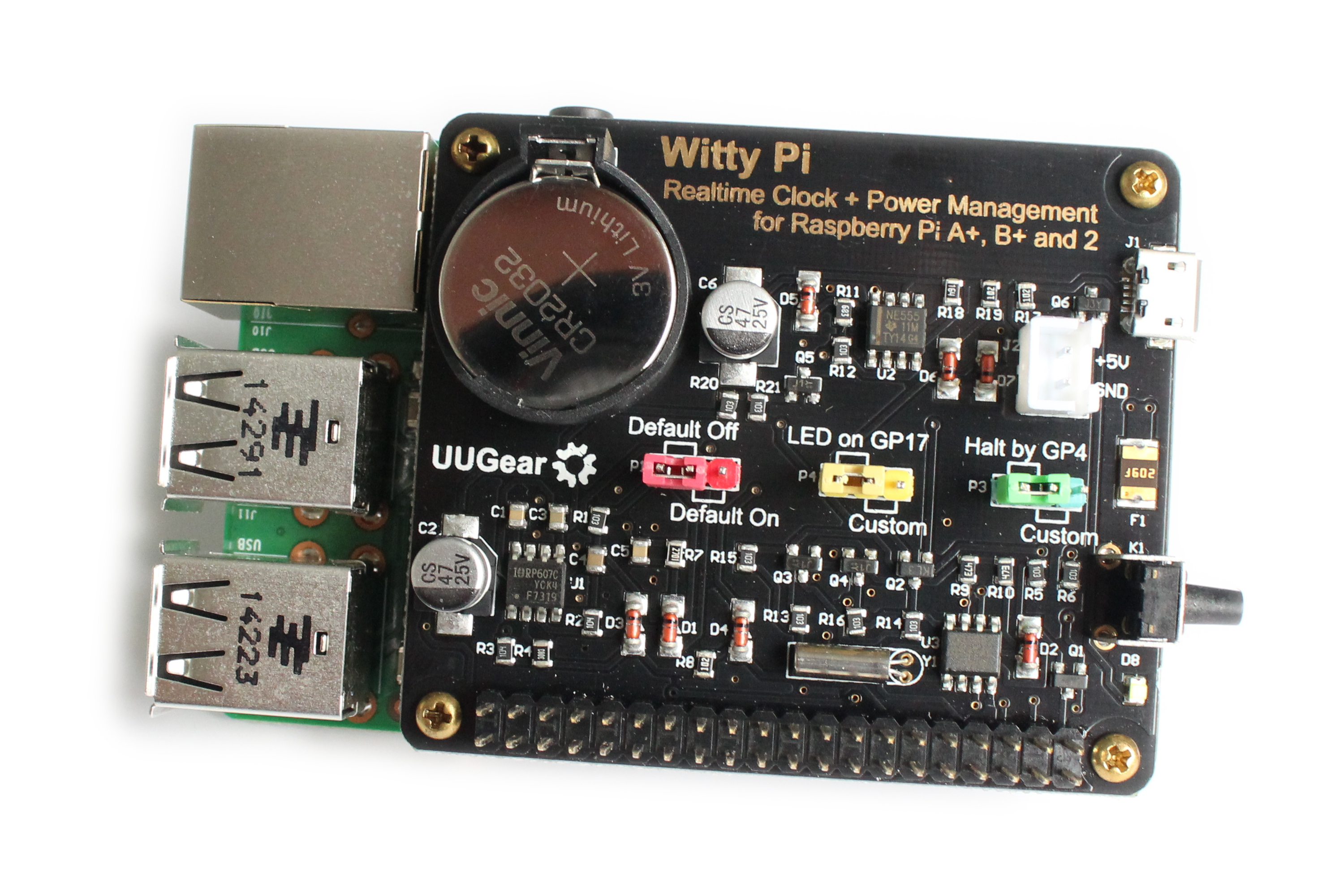 Witty Pi A Realtime Clock And Power Management For Your Raspberry 10 Led Wiring Diagram