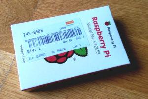 Farnell Boxed Raspberry Pi