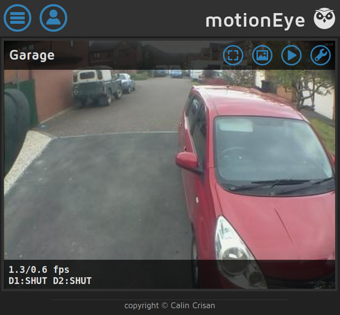 motionEyeOS Camera Web Interface