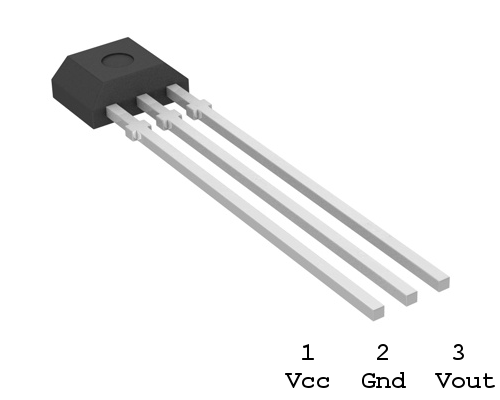 A1120 Hall Effect Sensor Pinout