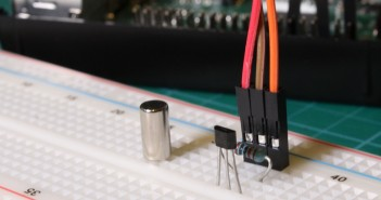 Hall Effect Sensor and Magnet