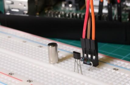 Hall Effect Sensor and Magnet