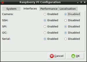 Raspberry Pi Config Tab 2