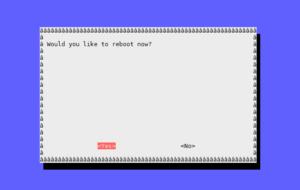 rasp-config boot options